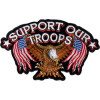 FLC1918 - Support Our Troops Back Patch (4 X 3 inch)