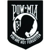 FLD1052 - POW/MIA You Are Not Forgotten Back Patch (6 x 7)