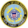 FLD1712 - US Coast Guard Defenders of Our Freedom Back Patch