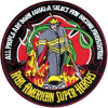 FLD1713 - Firefighters Real American Super Hereos Back Patch
