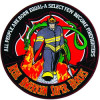 FLE1716 - Firefighters Real American Super Hereos Back Patch