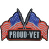 FLE1915 - Reflective Proud Vet Back Patch (10 x 7 inch)