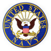 FLF1243 - US Navy Rocker Back Patch