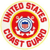 FLF1574 - US Coast Guard Rocker Back Patch