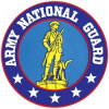 """FLF1665 - Army National Guard Back Patch (10"""" diameter)"""
