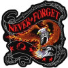 "FLG1864 - Never Forget POW Back Patch (13 x 13"")"