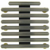 "RH726 - 23 Ribbon Bar Holder - 1/8"" Space Mount (Army, Navy, Marine Corps, Coast Guard)"