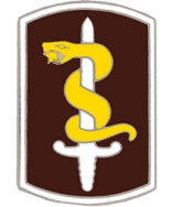 30th Medical Command Combat Service Badge - 40135 (2 inch)
