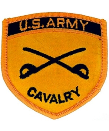 012207 - PATCH USA CAVALRY