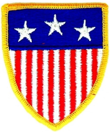 """012302 - US FLAG patch (sew on only) 2.5 x 3"""""""
