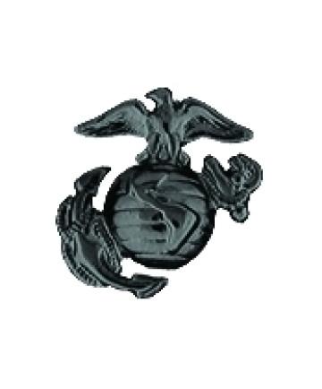 14133BK - United States Marine Corps Eagle Globe & Anchor (EGA) Cutout Pin
