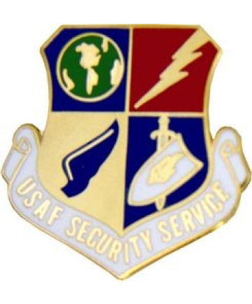 14210 - United States Air Force Security Service (USAFSS) Pin