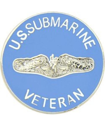 14325 - US Submarine Veteran Pin