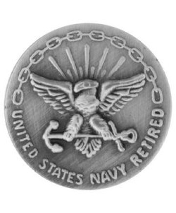 14379 - United States Navy Retired 20 Years Pin