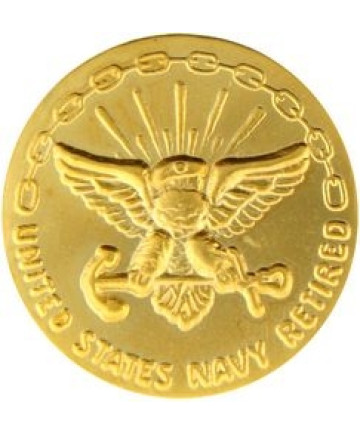 14380 - United States Navy Retired 30 Years Pin