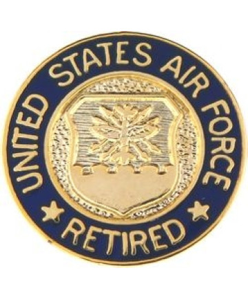 14381 - United States Air Force Retired Pin
