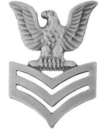 14456 - Petty Officer First Class (PO1 / E-6) Left Collar Device Pin