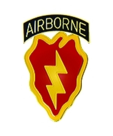 14468 - 25th Infantry Division Airborne Pin