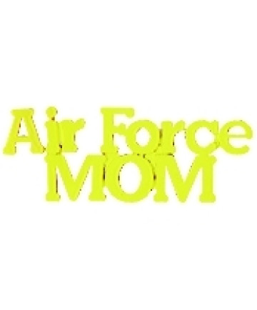 14616 - United States Air Force Mom Script Pin