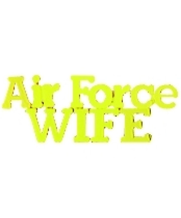 14617 - United States Air Force Wife Script Pin
