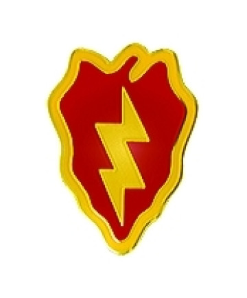 14660 - 25th Infantry Division Pin