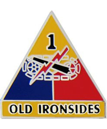 14740 - 1st Armored Division Old Ironsides Pin