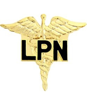 14842 - Licensed Practical Nurse (LPN) Caduceus Pin