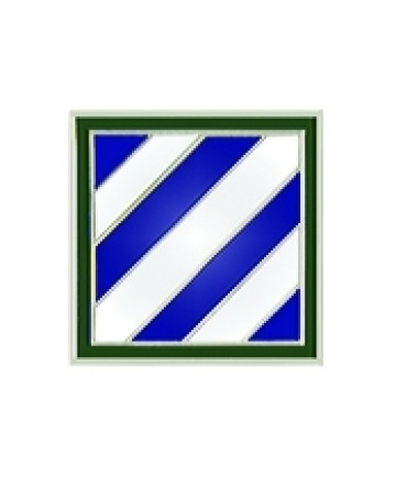 14858 - 3rd Infantry Division Pin