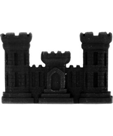 14868BK - Corps of Engineer Castle Pin
