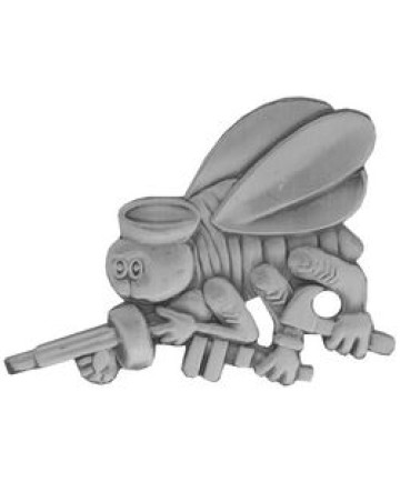 14995 - US Navy Seabees Inisignia Cut Out Pin