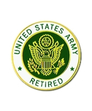 15037 - United States Army Retired Insignia Pin