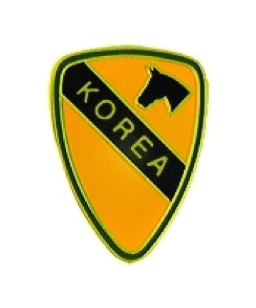 15281 - 1st Cavalry Korea Pin