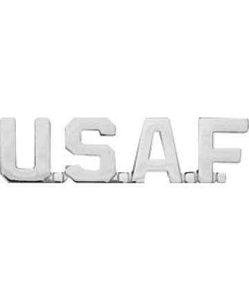 15355SI - United States Air Force Script Pin