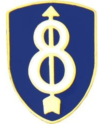 15393 - 8th Infantry Division Pin