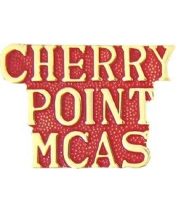 15413 - Cherry Point Marine Corps Air Station Script (MCAS) Pin