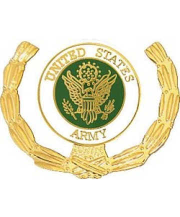 15778 - United States Army Insignia with Wreath Pin