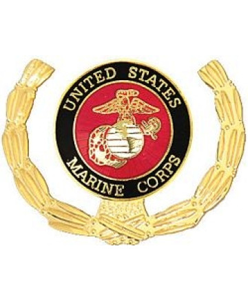 15779 - United States Marine Corps Insignia with Wreath Pin
