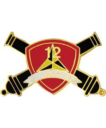 15800 - US Marine 12th Regiment Pin
