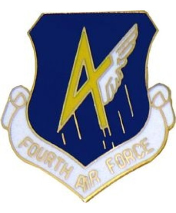 15952 - 4th Air Force Pin