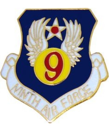 15956 - 9th Air Force Pin
