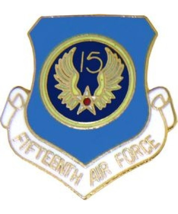 15962 - 15th Air Force Pin