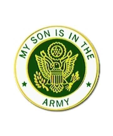 15985 - My Son Is In The Army Insignia Pin