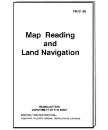 97117 - Map Reading and Land Navigation Military Manual