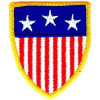 012302 - US FLAG patch (sew on only) 2.5 x 3""