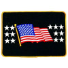 "012311 - US FLAG BACK PATCH 9 3/4""  X 6 3/4"""