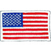 "091011 - US Flag 3.5 x 2.25"" (sew only)"
