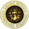 14144 - United States Navy Reserve Honorable Discharge Pin