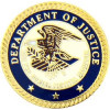 14253 - Department of Justice Insignia Pin