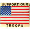 14270 - Support Our Troops United States Flag Pin
