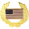 14294 - United States Flag with Wreath Pin